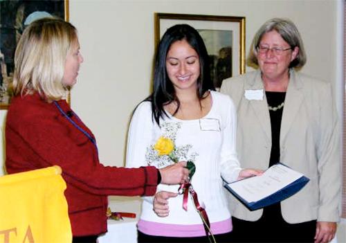 Zontian Donna Conant, Erica Gelvan and Zontian Sandra Miller
